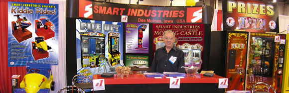 Gordon Smart at a trade show